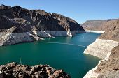 Lake Mead by Hoover Dam