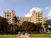 Exterior of Hotel Nacional, in Havana, Cuba