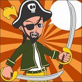 pirate cartoon