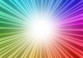 Cosmic color explosion background