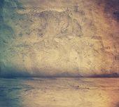 grey grunge interior, retro film filtered, instagram style