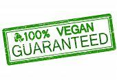 One Hundred Percent Vegan Guaranteed