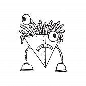 Retro Cartoon Robot