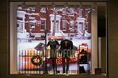 Munich, Germany - December 25, 2009: Fashion Store's Shop Window.