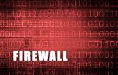 Firewall on a Digital Binary Warning Abstract