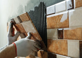 pic of ceramic tile  - Laying Ceramic Tiles - JPG