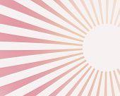 Light Rays On Pink