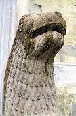 foto of bearings  - Detail of a medieval statue - JPG