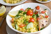 Chicken tabbouleh