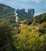image of trinity  - Image of monastery of Holy Trinity in Meteora Greece - JPG