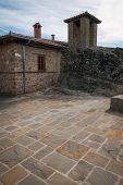 foto of trinity  - Image of monastery of Holy Trinity in Meteora Greece - JPG