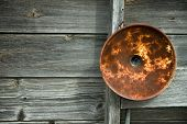 Rusty Light Fixture