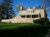 image of burlington  - rear view of the paletta mansion in burlington on - JPG