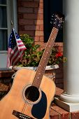 Guitar On The Porch