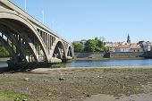 New Road Bridge Across River Tweed At Berwick-upon-tweed