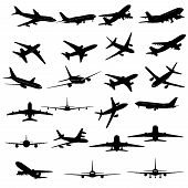 Planes Silhouette
