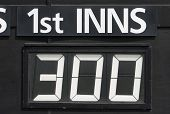 First Innings Score