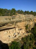 Ancient Cliff Dwellings Of Mesa Verde
