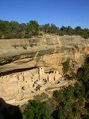 Ancient Cliff Dwellings Of Mesa Verde