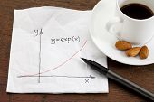 Exponential Growth On Napkin