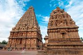Architecture at finest in the Thanjavur temple South India