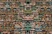 pic of chola  - Close up details of the famous chola architecture - JPG