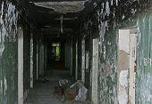 dark abandoned corridor