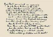 Letra de manuscrito