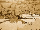 stock photo of land-mass  - New Orleans - JPG
