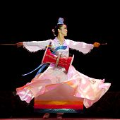 Korean Ethnic Dancer