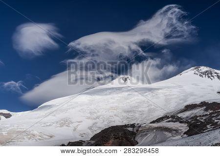 View Of Mount Elbrus The