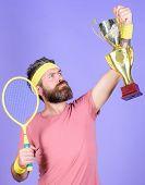 Win Tennis Game. Tennis Match Winner. Achieved Top. Tennis Player Win Championship. Athlete Hold Ten poster