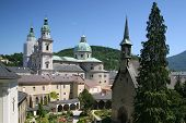 View On Salzburg Towers, Austria