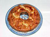 pic of dutch oven  - apple cake - JPG