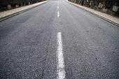 asfalt road