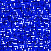Tie Dye Japanese Geometric Shibori Seamless Pattern. Boho Tie Dye Wash Batik. Geo Wabi Sabi Traditio poster