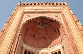 stock photo of darwaza  - Buland Darwaza at Fatehpur Sikri in India - JPG