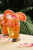 Grapefruit - Rose Iced Tea
