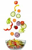 Salad Vegetable Diet Food