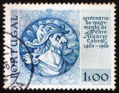 Postage stamp Portugal 1969 Pedro Alvares Cabral, Navigator