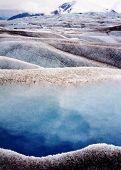 Geleira de Taku Juneau Alaska