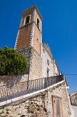 Church of St. Maria delle Grazie. Sant'Agata di Puglia. Italy.