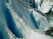 Worthington Glacier Closeup