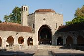 picture of carmelite  - Aylesford Priory at Aylesford in Kent England a religious home dating back to the 13th century and belonging to the Carmelite order of the Catholic church - JPG