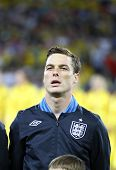 Scott Parker Of England Sings The National Anthem