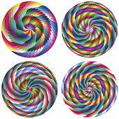 Conjunto de círculos de vector magic