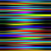 Multicolored vibrant abstract graduated stripes pattern.