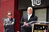LOS ANGELES - JUL 16:  Bryan Cranston, John O'Hurley at the Hollywood Walk of Fame Star Ceremony for