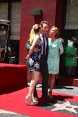 LOS ANGELES - JUL 16:  Bryan Cranston, Daughter and Wife at the Hollywood Walk of Fame Star Ceremony