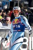 KITZBUHEL TIROL, AUSTRIA - JAN 24 2009; Kitzbuhel Tirol Austria, Aksel Lund Svindal (NOR) competing